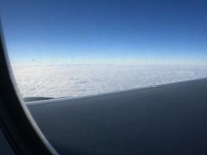 Wolken wie Schnee