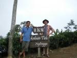 Selo und ich waren auch in der Teeplantage