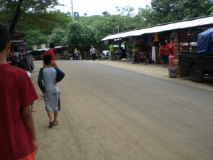 Pantai Pulangsawal - Stände