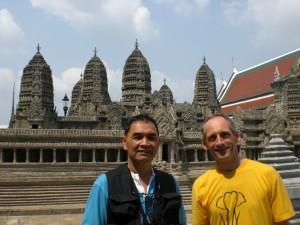 Eine Kopie von Angkor Wat