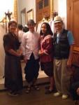 Im Museum, nach alter Thai-Art verkleidet