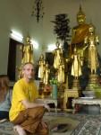 Viele kleinere Buddhas