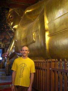 Der Riesen-Buddha (passt nicht auf ein Foto)