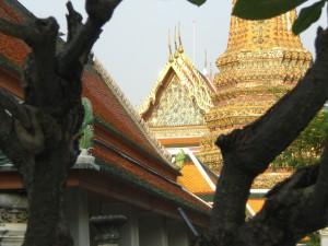 Detail des Komplexes mit dem liegenden Buddha