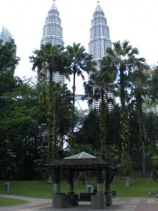 KLCC - Park vor den Petronas Türmen
