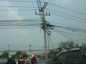 Abenteuerliche Kabel