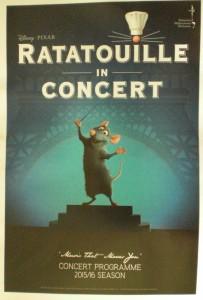 Filmmusik zum Film Ratatouille