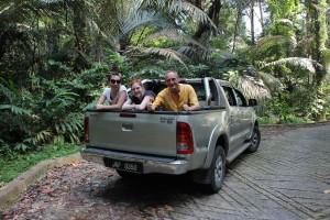 Mit dem Auto durch die Insel.