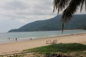 Strand auf der anderen Seite der Insel