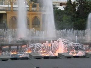 Musik-Springbrunnen