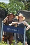 Wir waren auch in Stonehenge.