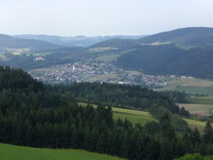 Landschaft bei Hagenberg
